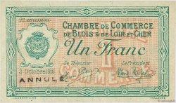 50 Centimes FRANCE régionalisme et divers BLOIS 1916 JP.028.06 SPL