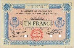 1 Franc FRANCE régionalisme et divers Moulins et Lapalisse 1916 JP.086.06 SUP