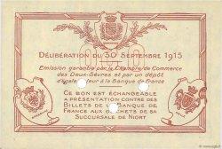 50 Centimes FRANCE régionalisme et divers NIORT 1915 JP.093.02 NEUF
