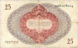 25 Gulden PAYS-BAS  1945 P.077 TB