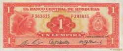 1 Lempira HONDURAS  1951 P.045b SUP