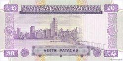 20 Patacas MACAO  1996 P.066a NEUF