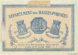 2 Francs FRANCE régionalisme et divers Bayonne 1917 JP.021.49 TTB à SUP