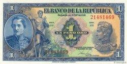 1 Peso Oro COLOMBIE  1950 P.380f NEUF