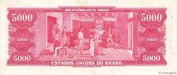 5000 Cruzeiros BRÉSIL  1964 P.182b SUP