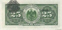 25 Centavos MEXIQUE  1915 PS.1069