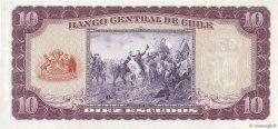10 Escudos CHILI  1964 P.139a SPL