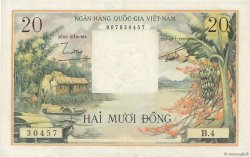 20 Dong VIET NAM SUD  1956 P.004a SUP+