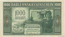 1000 Mark ALLEMAGNE  1918 P.R134b SUP