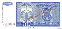10000000 Dinara CROATIE  1993 P.R12s NEUF