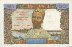 50 Francs - 10 Ariary MADAGASCAR  1962 K.843 SUP+