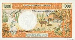 1000 Francs type 1968 modifié 1970 NOUVELLES HÉBRIDES  1975 P.20b pr.NEUF