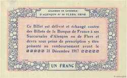 1 Franc FRANCE régionalisme et divers Alencon et Flers 1915 JP.006.04 SUP