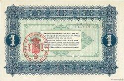 1 Franc FRANCE régionalisme et divers Calais 1915 JP.036.18 pr.NEUF