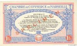 1 Franc FRANCE régionalisme et divers Marseille 1917 JP.079.71 NEUF