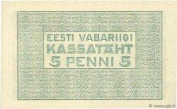 5 Penni ESTONIE  1919 P.39a NEUF