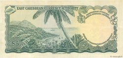 5 Dollars CARAÏBES  1965 P.14g TTB+