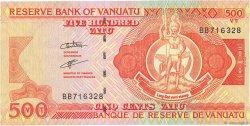 500 Vatu VANUATU  2006 P.05(var) SUP