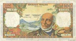 100 Francs ANTILLES FRANÇAISES  1966 P.10a TTB+