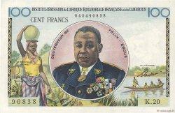 100 Francs type 1956 taille douce CAMEROUN  1956 P.32 SUP