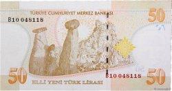 50 Lira TURQUIE  2005 P.220 NEUF