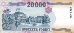 20000 Forint HONGRIE  1999 P.184a NEUF