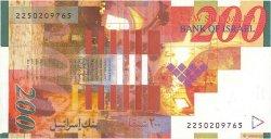 200 New Sheqalim ISRAËL  2002 P.62b NEUF