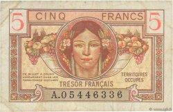 5 Francs TRÉSOR FRANÇAIS FRANCE  1947 VF.29.01