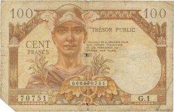 100 Francs TRÉSOR FRANÇAIS FRANCE  1947 VF.32.01 pr.B