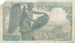 100 Francs DESCARTES FRANCE  1942 F.27.01 TB