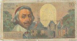 10 Nouveaux Francs RICHELIEU FRANCE  1960 F.57.08 B