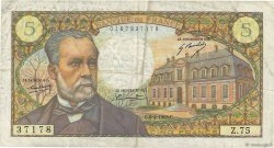 5 Francs PASTEUR FRANCE  1968 F.61.07 TB