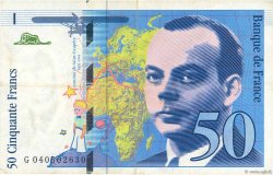 50 Francs SAINT-EXUPÉRY Modifié FRANCE  1997 F.73.04 TTB