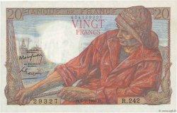 20 Francs PÊCHEUR FRANCE  1950 F.13.17 SUP à SPL