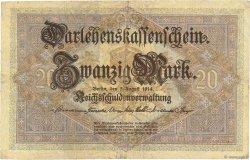 20 Mark ALLEMAGNE  1914 P.048b TTB