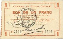 1 Franc FRANCE régionalisme et divers  1915 JP.02-1031 TTB+