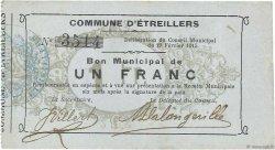 1 Franc FRANCE régionalisme et divers  1915 JP.02-0756 TTB