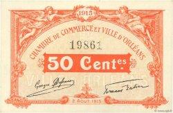 50 Centimes FRANCE régionalisme et divers ORLÉANS 1915 JP.095.04 SPL