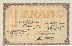 1 Franc FRANCE régionalisme et divers Puy-De-Dôme 1918 JP.103.16 NEUF
