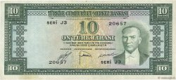 10 Lira TURQUIE  1951 P.156a TTB+