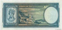 1000 Drachmes GRÈCE  1939 P.110 pr.NEUF
