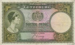 50 Francs LUXEMBOURG  1944 P.46a TTB+