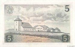 5 Kronur ISLANDE  1957 P.37a pr.NEUF