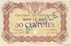 50 Centimes FRANCE régionalisme et divers BAR-LE-DUC 1918 JP.019.02 SPL