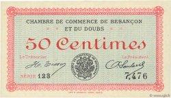 50 Centimes FRANCE régionalisme et divers Besançon 1915 JP.025.01 NEUF