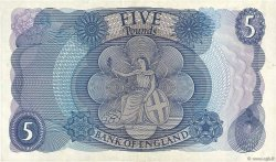 5 Pounds ANGLETERRE  1966 P.375b SUP