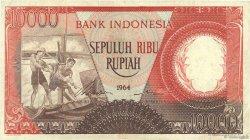 10000 Rupiah INDONÉSIE  1964 P.099 TTB