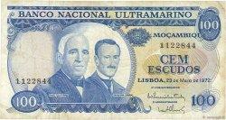 100 Escudos MOZAMBIQUE  1972 P.113 pr.TTB