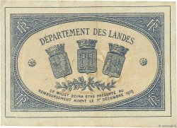1 Franc FRANCE régionalisme et divers MONT-DE-MARSAN 1914 JP.082.15 TTB