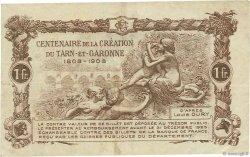 1 Franc FRANCE régionalisme et divers MONTAUBAN 1921 JP.083.19 TTB